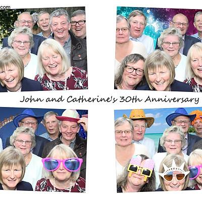 John & Catherine 30th anniversary