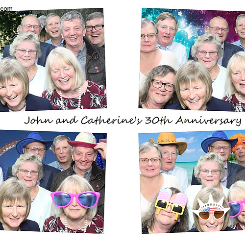 John & Catherine 30th anniversary