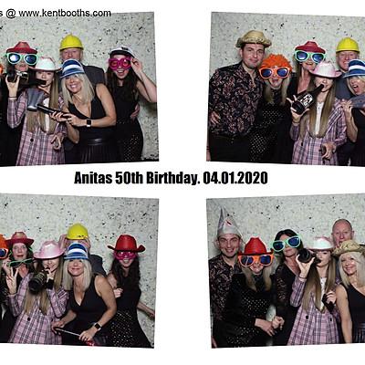 KentBooths - Anitas 50th
