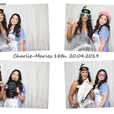 Charlie Maries 18th