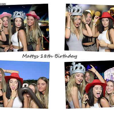 Mattys 18th