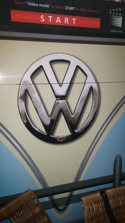 KentBooths Selfie Pod VW Logo