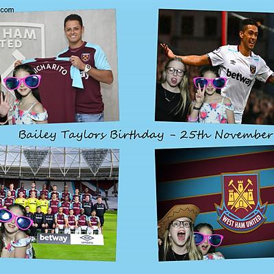 Bailey Taylor Birthday