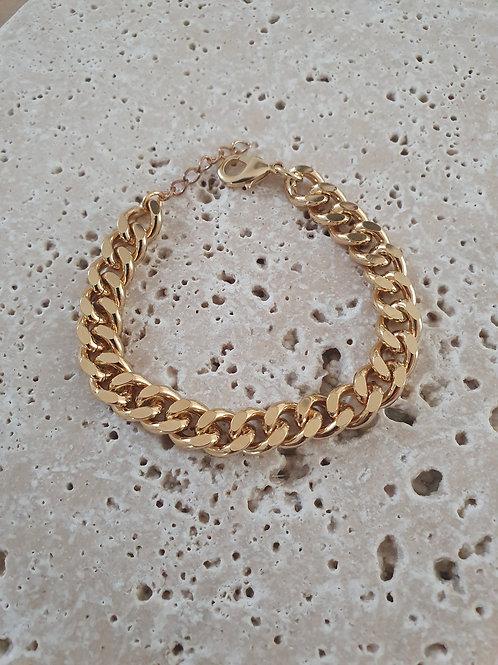 Bracelet Gourmette XL doré