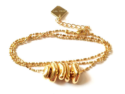 Bracelet WILD chaîne multi tours