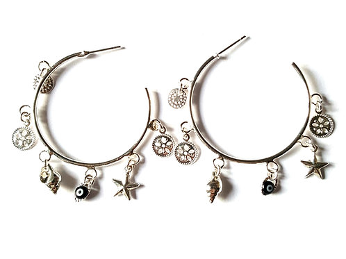 Boucles d'oreilles LAGON