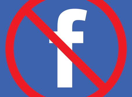Goodbye Facebook!