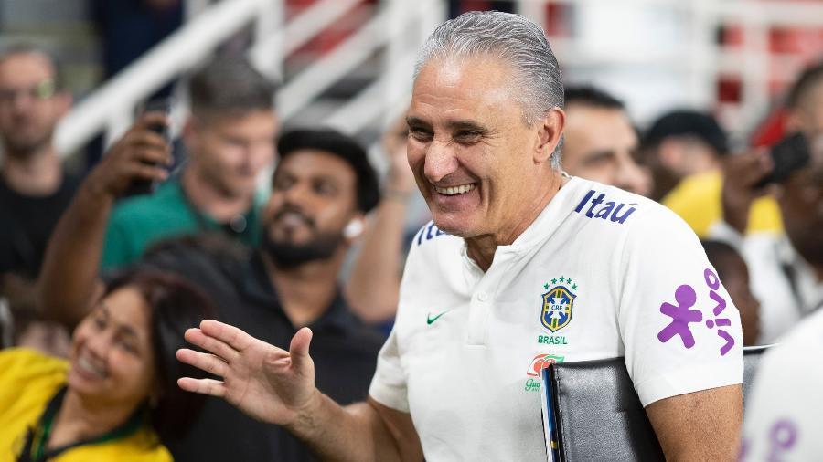 Tite está sob os cuidados de Jorge Kalil, médico cirurgião vascular e diretor de futebol do Corinthians