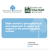 Older women's perceptions of and respons