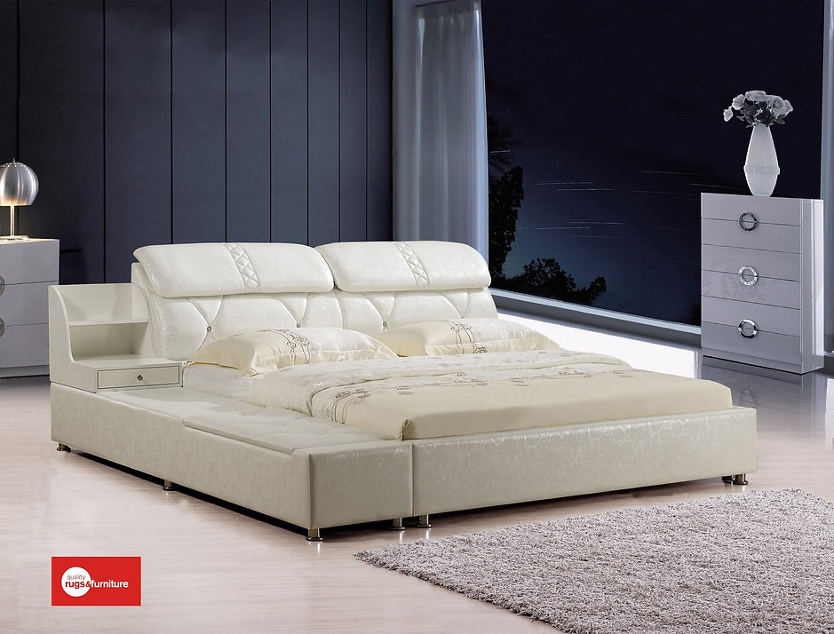 Rui Bin Leather Bed (A8820)
