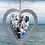 Thumbnail: Blue Sea Pottery Heart Mobile
