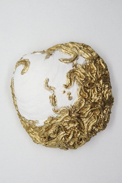 Venus Hand Painted Shell Trinket Dish