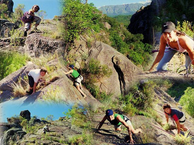 Cordoba - Capilla escalada collage