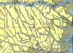 Delta mapa islas