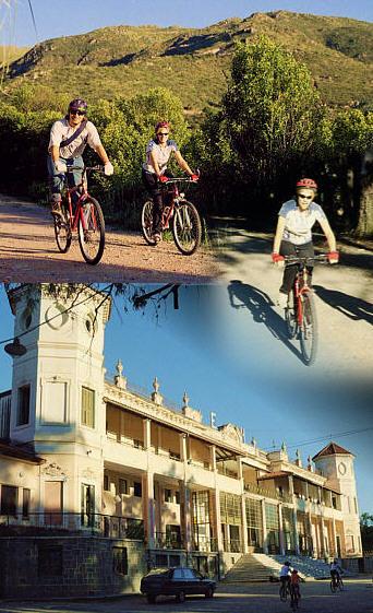 Cordoba - La falda bike collage