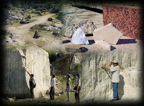 Cordoba - La Falda stone collage