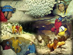 Cordoba - La falda - caverna collage