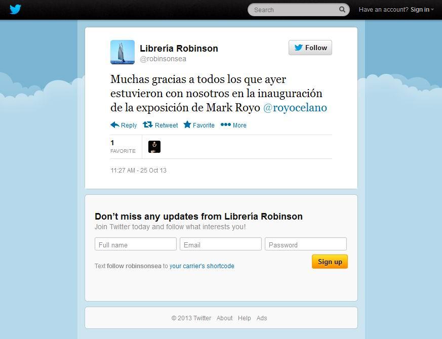 MADRID - EXPO ROBINSON