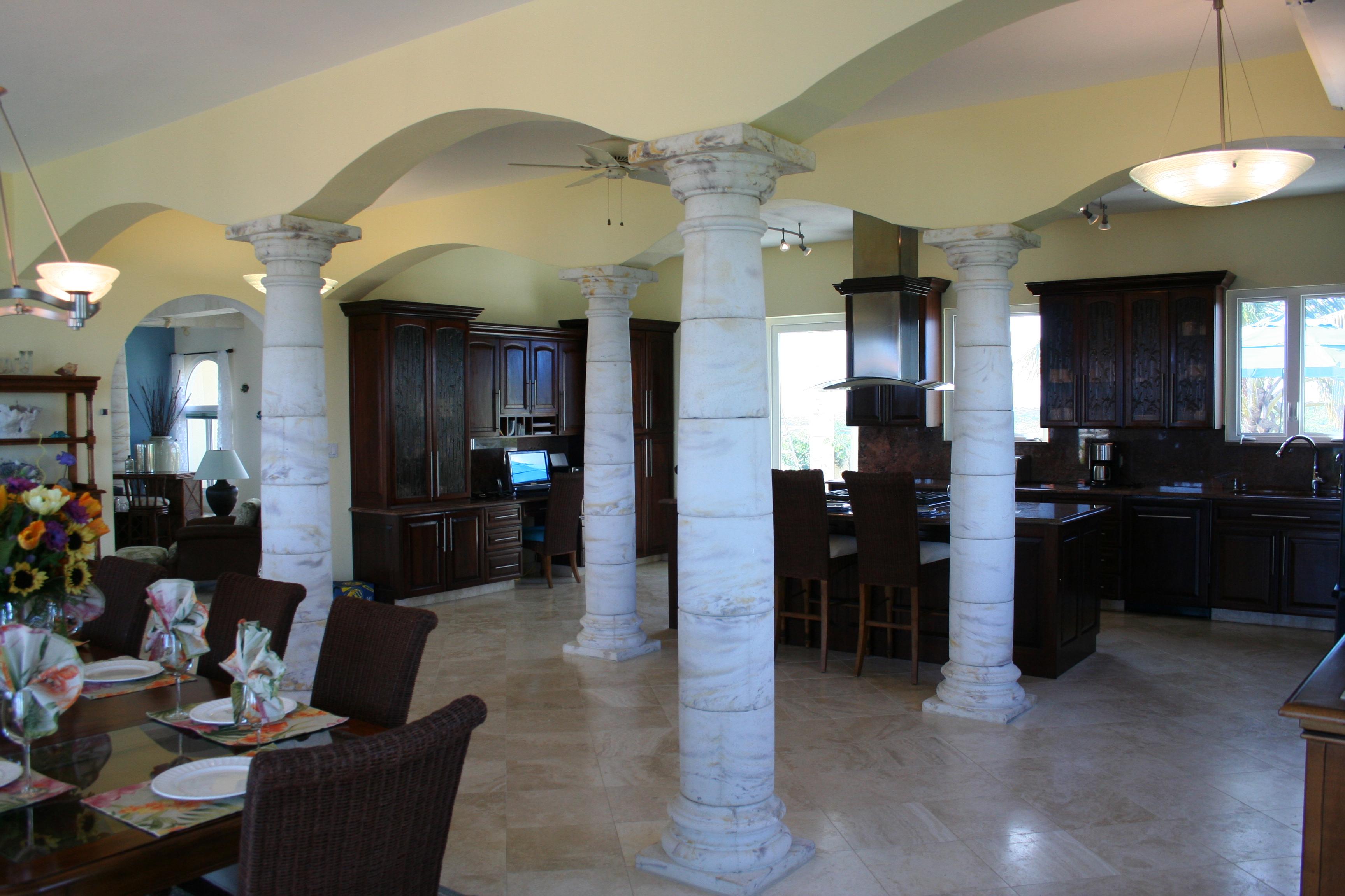 Large Kitchen/Entertainment Area