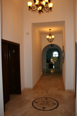 Marble and Travertine  Throughout