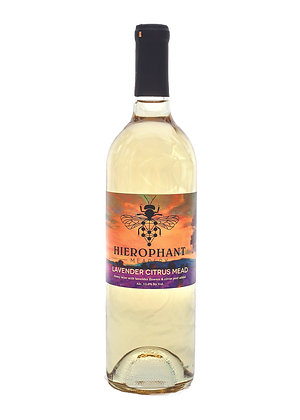 Lavender Citrus Mead 750ML