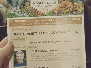 Hierophant @ Mushrooms & the Mycology of Consciousness with Paul Stamets & Louie Schwartzber