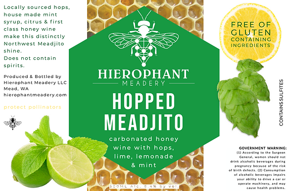 Hopped Meadjito 500ML