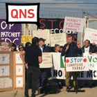 'Queens is not for sale': Community activists protest EDC's plan to develop Sunnyside Yards