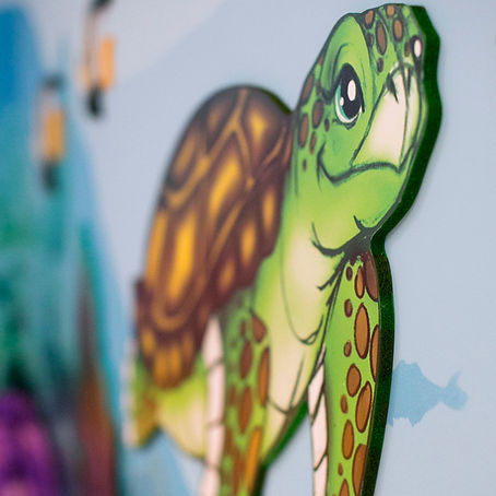Carebbean Room | Animino Children's room murals and decoration