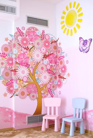 animino Mushrooms and Fairies Room Ino Karella Artwork
