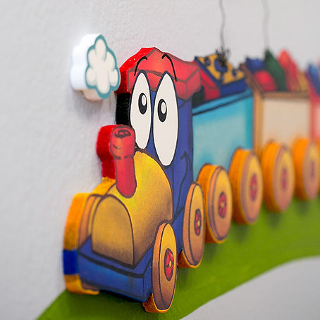 Toy Room | Animino Children's room murals and decoration