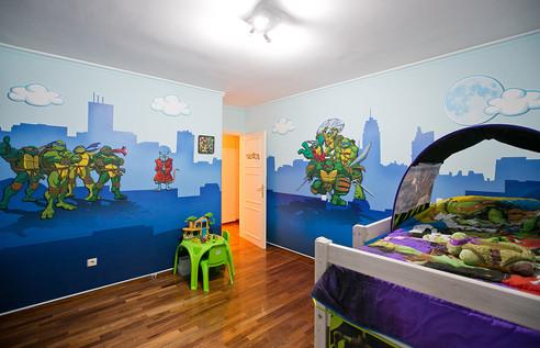 animino Ninja Turtles Room Ino Karella Artwork