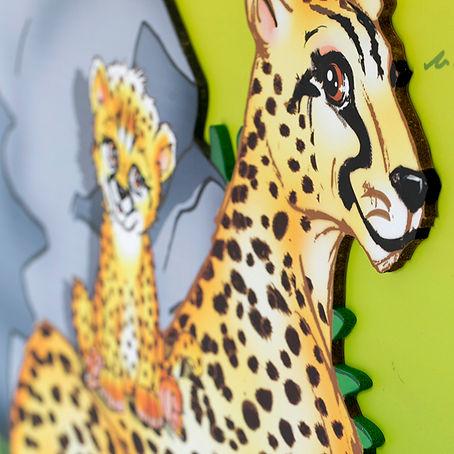 Savanna Room | Animino Children's room murals and decoration