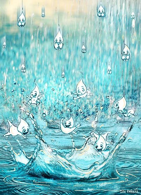 Baby rain drops