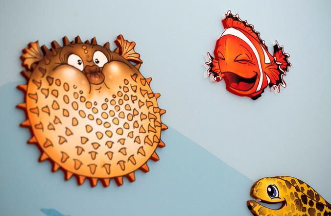 animino Coral Reef Room Ino Karella Artwork