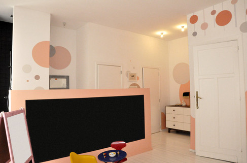 Bubbles and Waves Room | Animino Children's room murals and decoration