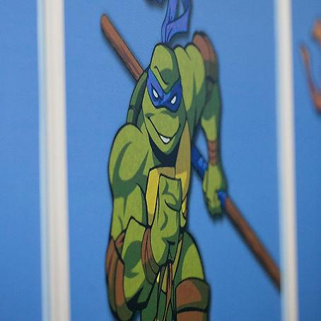 Ninja Turtles Room | Animino Children's room murals and decoration