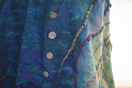 Water Poncho-closeup