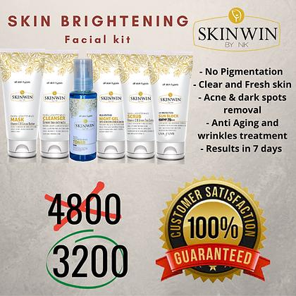 Skin Brightening Facial Kit