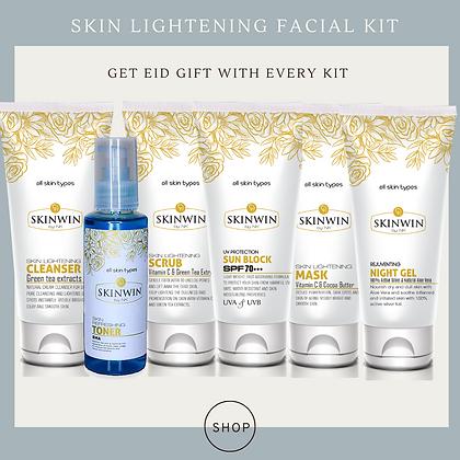 Skin Lightening Facial Kit