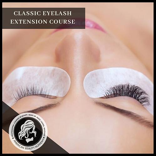 Classic Eyelash Extensions 1:1 Method