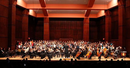 The Delta Symphony Children's Chorus with the DSO