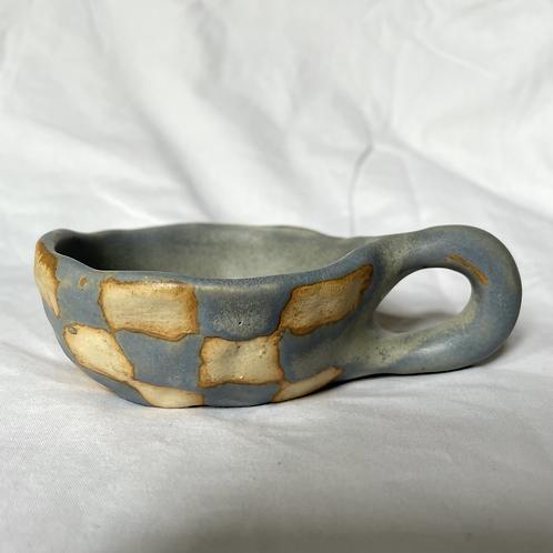 Granite check cup