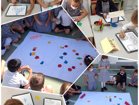 Year 2, Our Shape Detectives