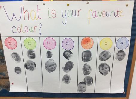 Colour Burst in Pre-Nursery