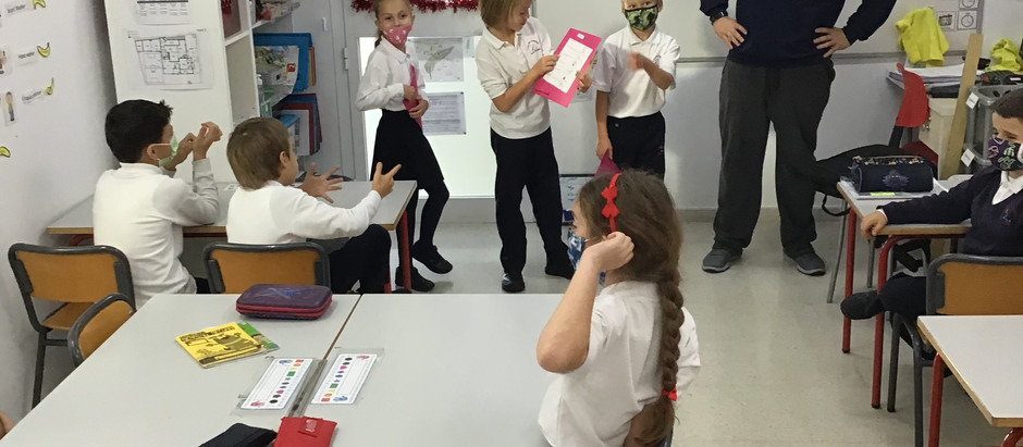 Spanish Classes with Year 3