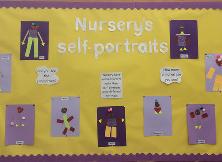 Self Portraits in Nursery