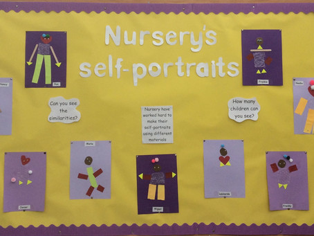 Self Portraits in Nursery