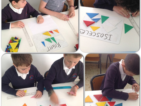 Triangles in Year 4