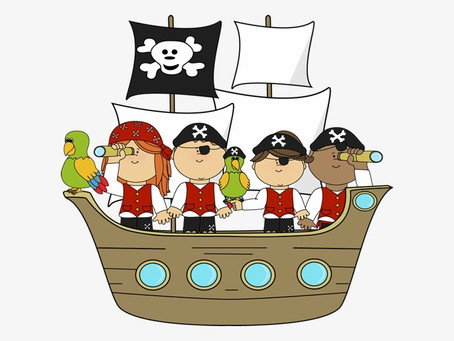 All Aboard the Pirate Ship!